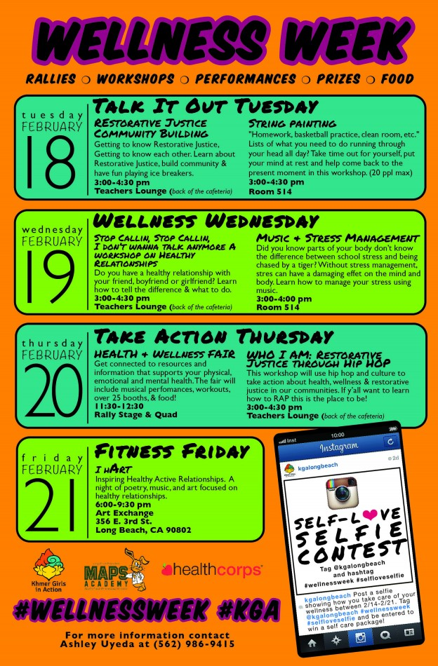 Wellness Week Events