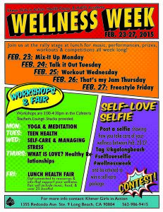 2nd Annual Wellness Week 2015