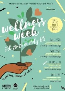 Wellness Week 2018 Flyer